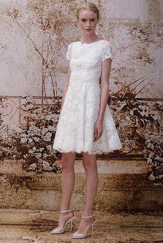Monique Lhuillier Bridal Fall 2014 - Slideshow - Runway, Fashion Week, Reviews and Slideshows - WWD.com