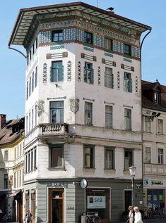 Ljubljana - so urban und grün! #Sloweninen   Travelcontinent Multi Story Building, Old Town, Small Places, Tourism, Art Nouveau
