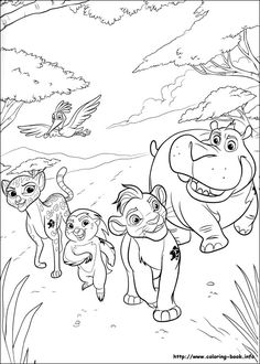 Printable Coloring Pages For Kids The Lion Guard 23