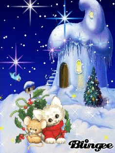 Download Animated 240x320 «зимний мотив» Cell Phone Wallpaper. Category: Holidays