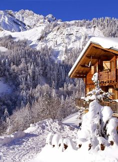 French Alps, Swiss chalet                                                                                                                                                                                 More