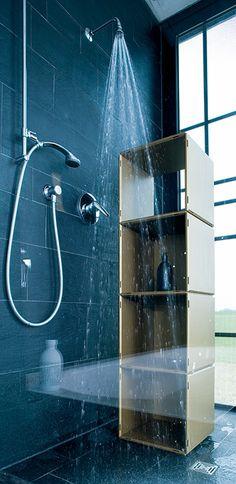 Qubing Bietet Unendlich Viele Einrichtungsmöglichkeiten Wie Zum Beispiel  Für Ihr Badezimmer, Mit Wasserfesten Modularen #