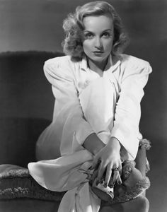 Portrait of Carole Lombard in Mr & Mrs Smith directed by Alfred Hitchcock, 1941