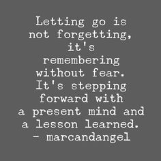 When the pain of holding on is worse than the pain of letting go, it is time to let go. -- read: http://www.marcandangel.com/2014/01/26/50-things-to-let-go-of-before-your-next-birthday/