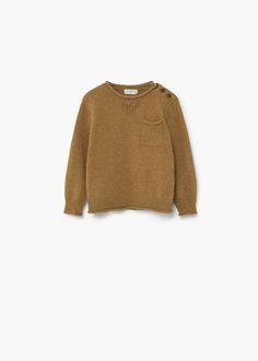 Pull-over en coton et laine -  Enfants | MANGO Kids France