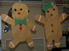 Do TLC gingerbread man instead of tracing - this includes a glyph book so each one is slightly different