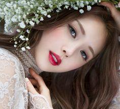 124 best spring makeup look perfect for women Simple Wedding Makeup Makeup Perfect Spring Women Pony Makeup, Makeup Lipstick, Eye Makeup, Perfect Eyes, Perfect Makeup, Park Hye Min, Hd Make Up, Asian Makeup Tutorials, Pony Effect
