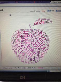 Using Word Clouds for Describing: Tagxedo Tutorial — The Speech Bubble
