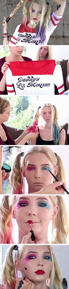 Harley Quinn | 30+ DIY Halloween Costumes for Women