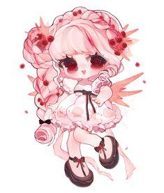 Cute Animal Drawings Kawaii, Kawaii Art, Cute Drawings, Cute Anime Chibi, Kawaii Anime, Cute Cartoon Pictures, Cute Pictures, Cute Poses, Anime Costumes