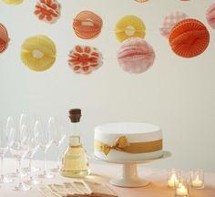 [DIY] Guirlande de caissettes à cupcakes #deco #wedding #cupcakes