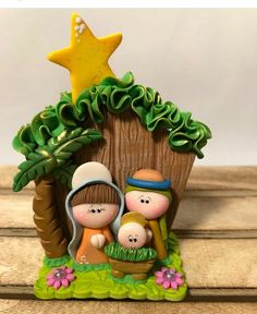 Image gallery – Page 434667801534714411 – Artofit Christmas Nativity Scene, Christmas Makes, A Christmas Story, Polymer Clay Projects, Clay Crafts, Cold Porcelain Tutorial, Polymer Clay Christmas, Clay Ornaments, Fondant Figures