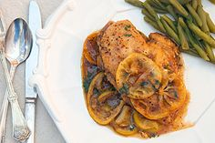 Meyer Lemon Chicken with Baby Potatoes and Olives | Poultry ...