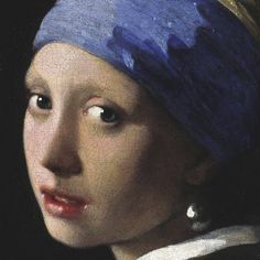 Girl with a Pearl Earring (detail) Print van Jan Vermeer bij AllPosters.nl