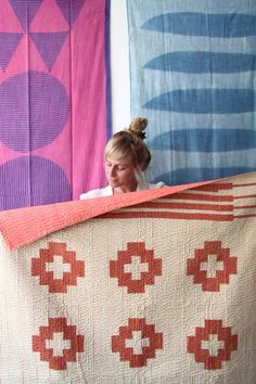 Studio Tour: Block Shop Textiles | Design*Sponge / http://www.blockshoptextiles.com/