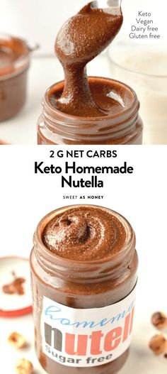 HOMEMADE KETO NUTELLA You are in the right place about keto recipes healthy low carb Here we offer you the most beautiful pictures about the keto recipes healthy breakfast you are looking for. When you examine the HOMEMADE KETO NUTELLA part of the … Sugar Free Desserts, Sugar Free Recipes, Low Carb Desserts, Low Carb Recipes, Diet Recipes, Sugar Free Snacks, Diet Desserts, Jelly Recipes, Snacks Recipes