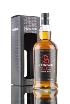 Bottled at 56.3%, this is the latest cask strength offering from Springbank distillery - aged for 12 years and created from 70% ex-sherry casks and 30% ex-bourbon casks.