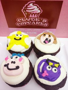 Dora, Dora, Dora the explorer! Someone is going to have a fun party with these creative cupcakes! YUM!
