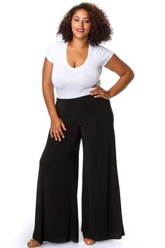 One of the most elegant and classic trousers styles for evening ...