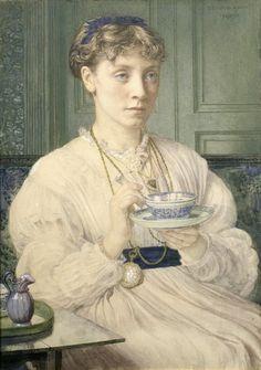 Retrato de Georgiana Burne-Jones