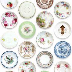 China Plate Wallpaper