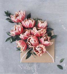 Super Ideas For Flowers Photography Bouquet Colour Flower Arrangements Simple, No Rain, My Flower, Envelopes, Beautiful Flowers, Love Flowers Photos, Pink Flowers, Happy Flowers, Elegant Flowers