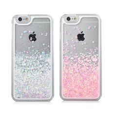 For IPhone 6 Case Transparent Hard PC Cover Dynamic Liquid Glitter Sand  Stars Back Case Cover Capa Para for IPhone 798cf6bf5eac