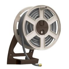 Wall Mounted Hose Storage  sc 1 st  Pinterest & Lewis Wall Mount Swivel Hose Reel | http://bottomunion.com ...