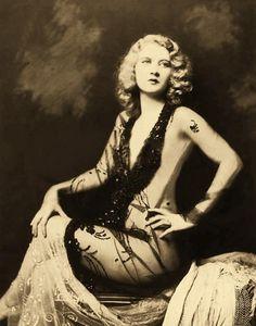 Vera Milton, portrait by Alfred Cheney Johnston. 'Ziegfeld Girl', Ziegfeld Follies 1931