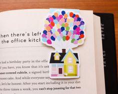 Up House & Balloons Jumbo Pixar Bookmark Magnet