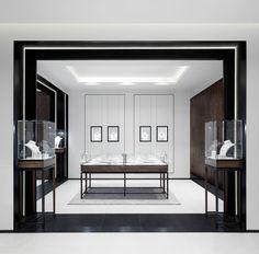 David Thulstrup designs symmetrical space for Georg Jensen boutique