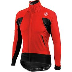 Castelli Alpha Wind Jersey  LongSleeve  Mens RedBlack L >>> Read more at the image link. (This is an affiliate link) #CyclingClothing