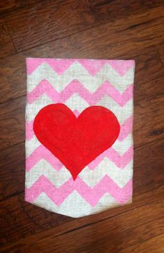 Superieur Burlap Garden Flag For Valentineu0027s Day By ModernRusticGirl On Etsy, $20.00  | Junior Auxiliary Of Indianola | Pinterest | Burlap Garden Flags, ...