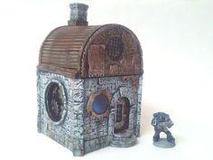 Custom Kingdoms Steampunk Cottage Wargaming Warhammer 40k