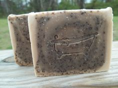 Dark Espresso Roast Coffee Soap with all natural ingredients. BrinkleysSoaps on Etsy, $5