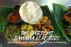 The Garden Banana Leaf Rice Penang Coriander Seeds, Fennel Seeds, Banana Leaf Rice, Bitter Gourd Fry, Sources Of Soluble Fiber, Parboiled Rice, Banana Blossom, Masala Spice, Flavored Rice