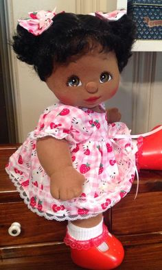 Mattel My Child Dolls♡♡♡ This was favorite doll as a little gir, Il have to admit I had the twins in the sailor outfit. Cryed when they were stolen out of my parents car....At the age of 13, no really!