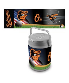 Take a look at this Baltimore Orioles Can Cooler by Picnic Time on #zulily today!