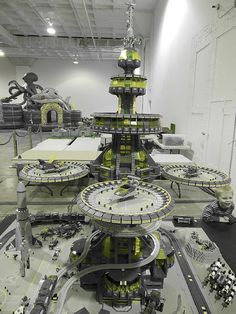 #LEGO Space Station | Photo by David Koudys | #SciFi