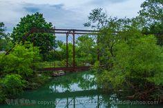 Abandoned bridge.