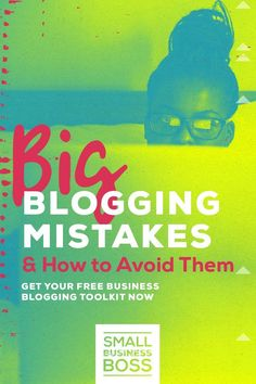 If you've ever blogged for your business or are thinking about adding a blog into the mix, you need to ensure you have an actual strategy to make your time spent writing worthwhile. *Pin this post to learn the biggest mistakes made by bloggers and how you can avoid them.* #servicesbusiness #bloggingforbusiness #contentmarketing via @smallbusinessboss