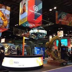 The second day of IAAPA Attractions Expo will soon begin! We are waiting for everyone who wants to slide in the world of SplashWare at the second largest booth of the event (booth with Polin Waterparks. North America, Attraction, Two By Two, Aqua, World, Waiting, Water, The World