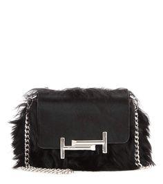 8c0876e0c69 Medium Leather Tote Bag, Black   Pinterest   Tods bag