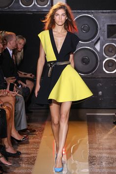beautiful flow and low cut! Fausto Puglisi Spring 2014 Ready-to-Wear Collection Slideshow on Style.com