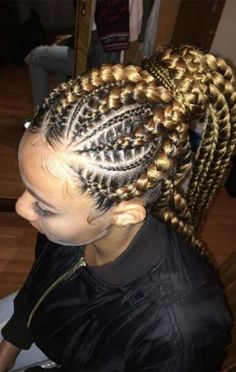 Goddess Braids Hairstyles for