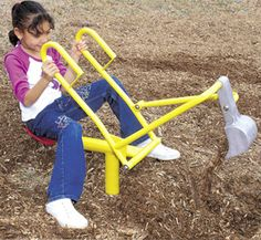 Sand Digger Playground Component