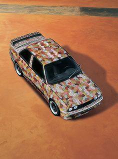 BMW Art Car by M.J. Nelson