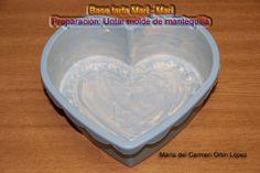 Base tarta Mari - Mari   Preparación: Untar molde de mantequilla