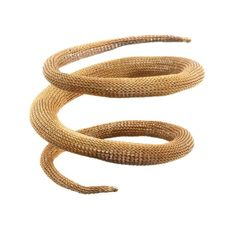 CANOPUS gold-plated copper bangle by Milena ZU-crocheted metal? I guess you just shape it to your arm whenever you put it on? Interesting.