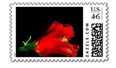Red Hibiscus Postage available at: